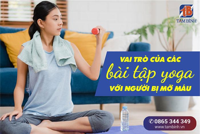 vai trò của bài tập yoga cho người mỡ máu cao