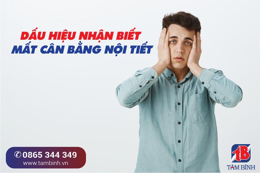 nhận biết dấu hiệu suy giảm nội tiết ở nam giới