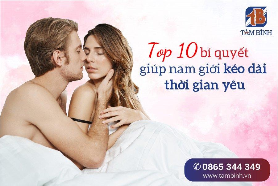 bí quyết giúp nam giới kéo dài thời gian yêu
