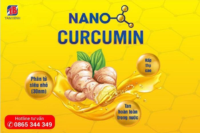 Tinh chất Nanocurcumin dạng lỏng từ CHLB Đức