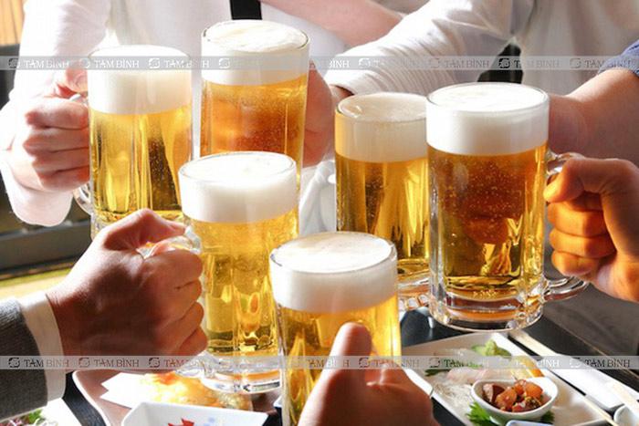 Rượu bia làm tắc nghẽn mạch máu