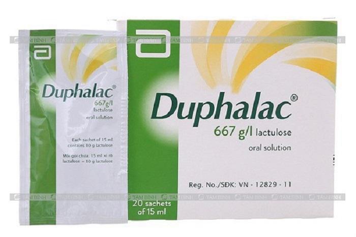 Thuốc Duphalac nhuận tràng